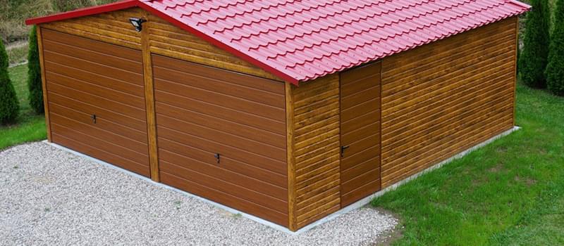 Garaże blaszane, drewnopodobne, akrylowe ocynkowane, kojce dla psów, projekt, dostawa, montaż, Limanowa, Nowy Sącz, Kraków, Polska - KaeMSTAL Garaże Blaszane, www.kaemstal-garaze.pl
